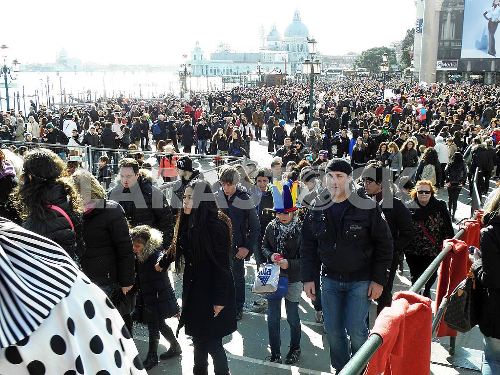 Venice carnival's crowd,4 — Image 52052