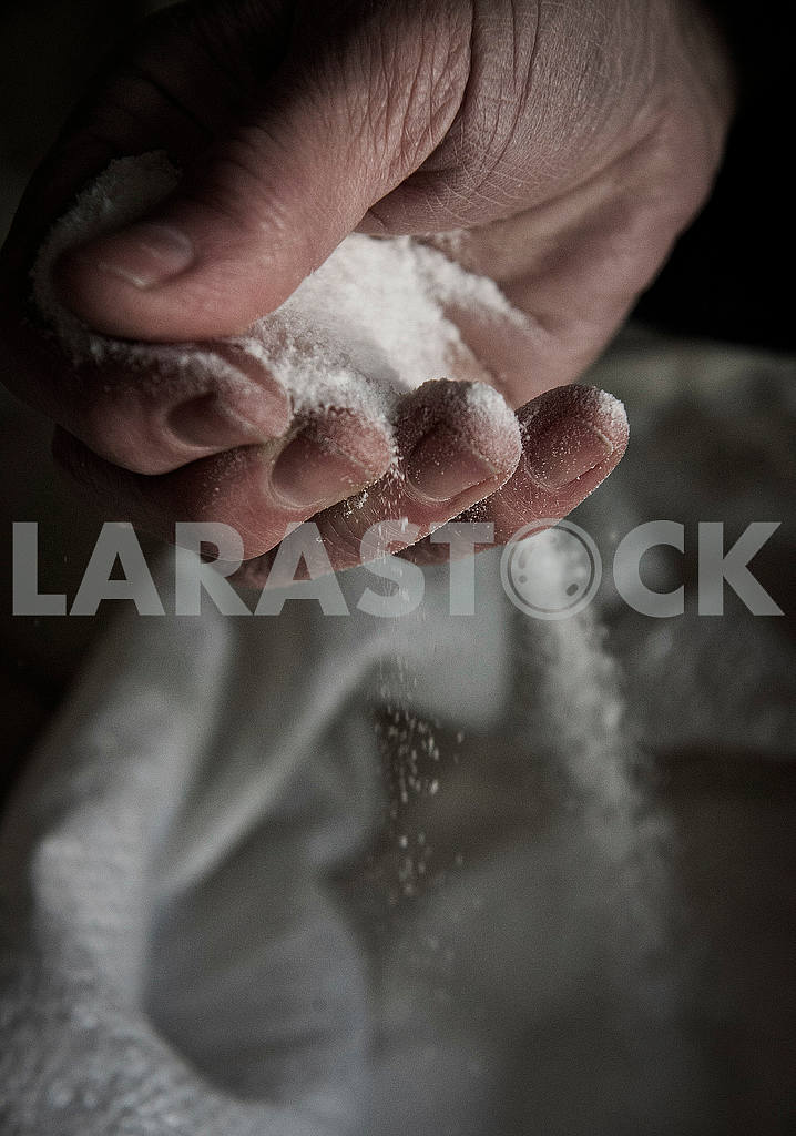 Salt in the palm of your hand — Image 52097