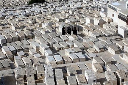 Еврейское кладбище на Масличной горе в Иерусалиме