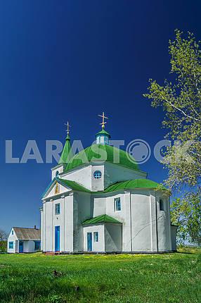 St. Michael's church village. Shandra. Ukraine