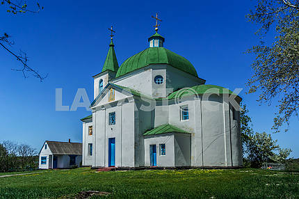 Church of Archangel Michael, s.Shandra (1831). Ukraine