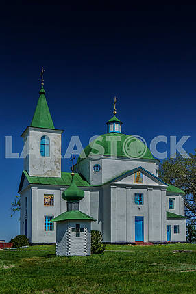 St. Michael the Archangel Church, village Shandra. Ukraine