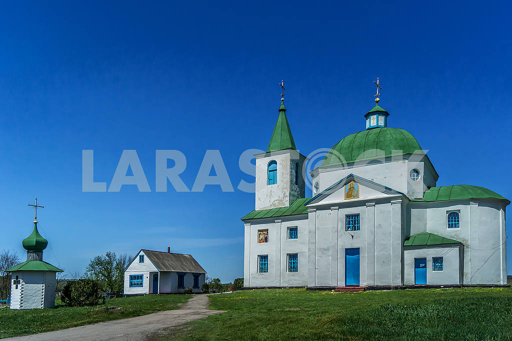 Stone St. Michael Church, village Shandra. Ukraine — Image 52257