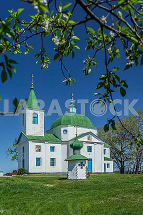 St. Michael's Church, the village Shandra. Ukraine