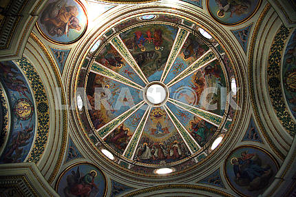 Dome of the The Church Stella Maris, mountain Karmel, Haifa