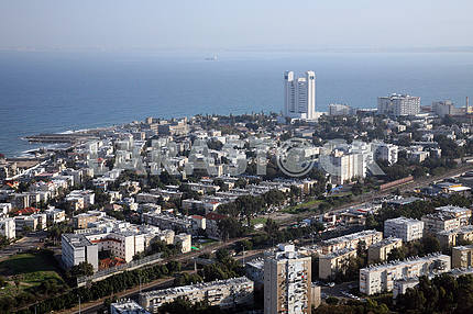 Overview of the city of Haifa in Israel