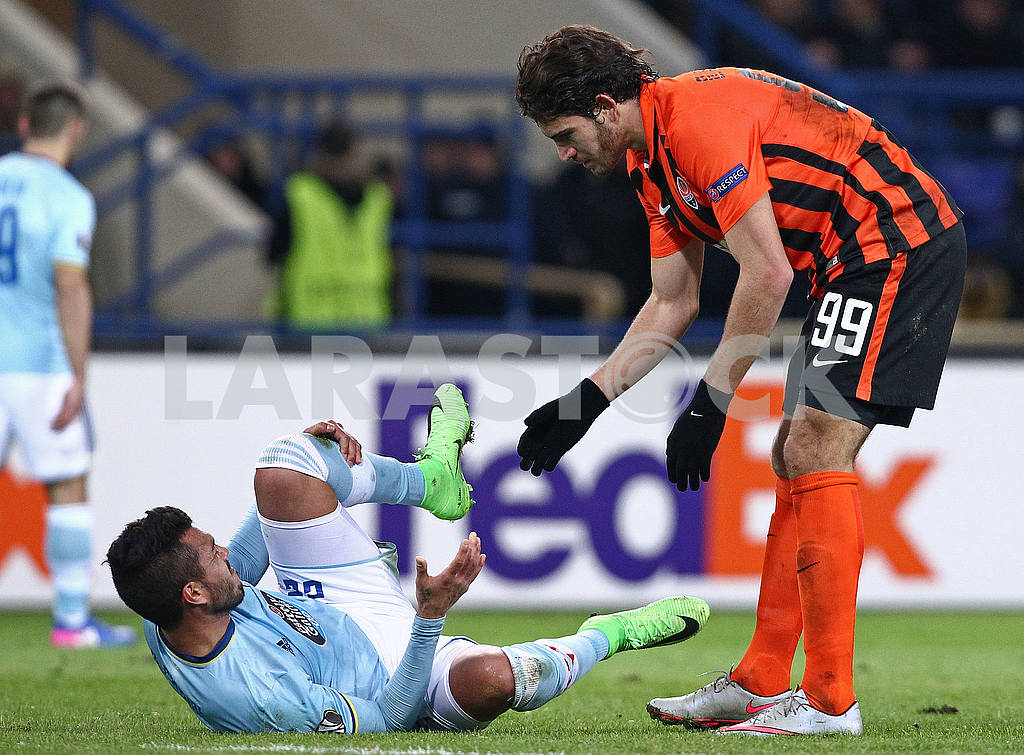 Blanko Leschuk in Shakhtar - Celta match — Image 52342