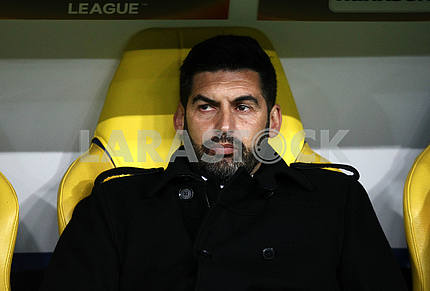 Paulo Fonseca, the head coach of the Miner