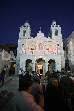 The Church of Jesus' first miracle, Cana