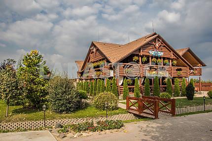Myslyvskyi Tavern. Transcarpatian region, Ukraine
