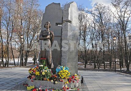 A monument to Elena Telige