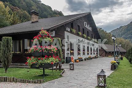 Мотель-ресторан Шале, Ганьковица. Украина