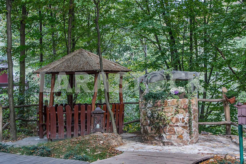 Территория мотель-ресторана Шале, Ганьковица. Украина — Изображение 52484