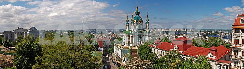 St. Andrew's Cathedral in Kiev