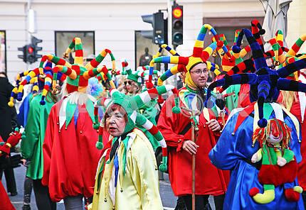 Карнавал в Загребе, Хорватия, Европа, 30