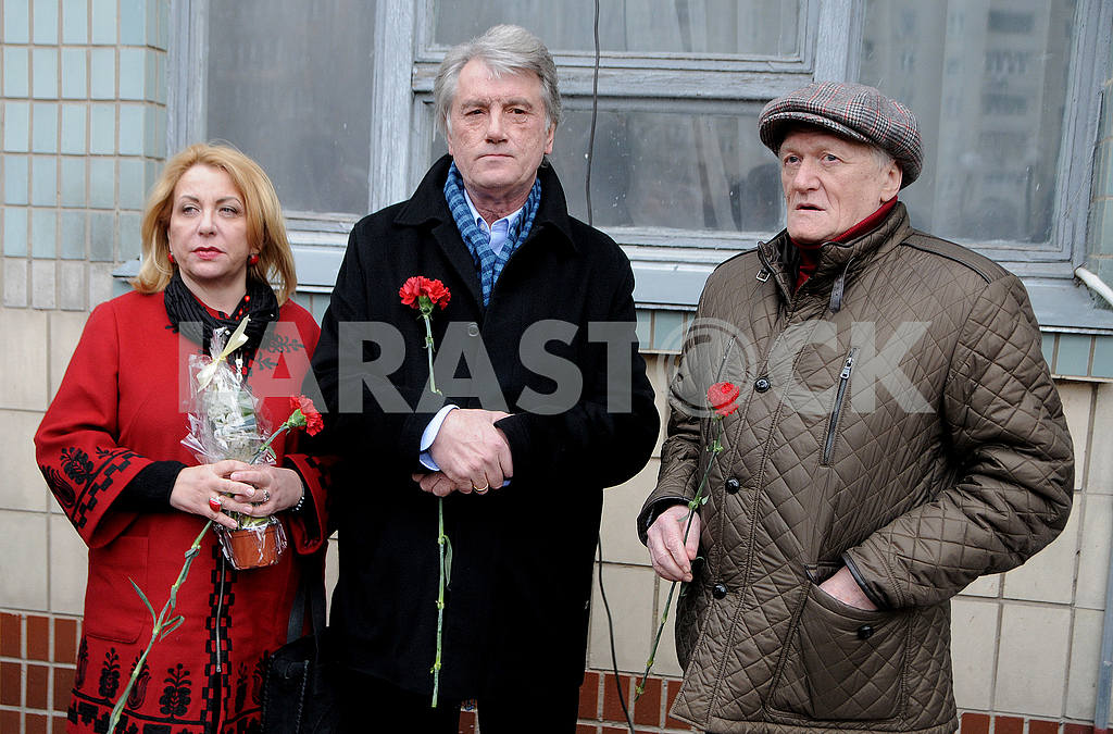 Catherine and Viktor Yushchenko and Yuri Rybchinsky — Image 52613