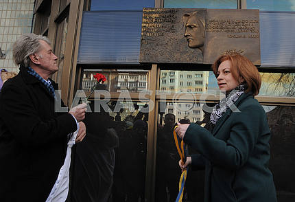 Viktor Yushchenko and Anna Starostenko