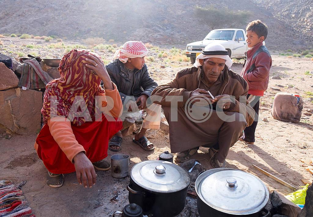 Bedouin family — Image 52667