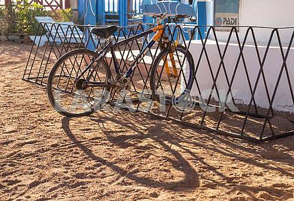 Велостоянка в Дахабе