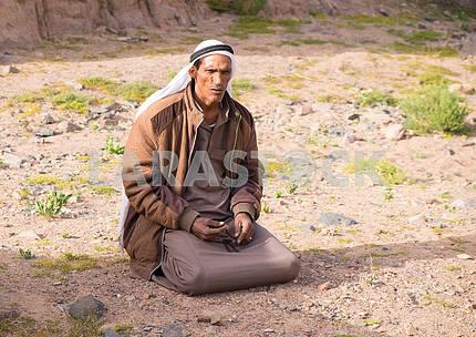 Praying Bedouin