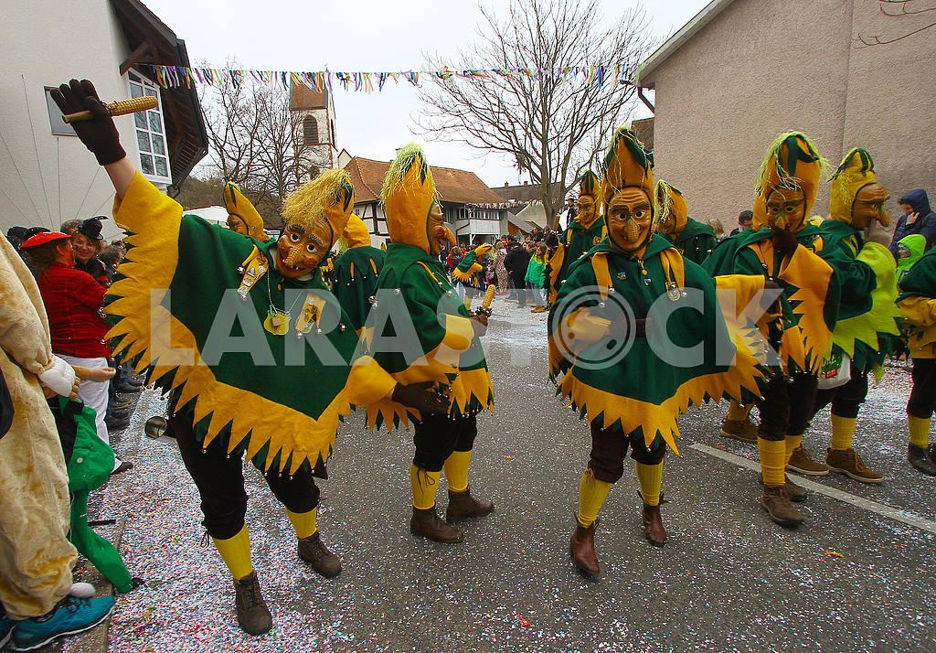 Карнавал у німецькому місті Вайль-ам-Райн (Баден-Вюртемберг). — Изображение 52756