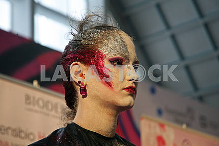Days of Beauty and Fitness,Stardust make-up contest,Zagreb,Croatia,19