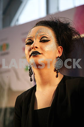 Days of Beauty and Fitness,Stardust make-up contest,Zagreb,Croatia,35