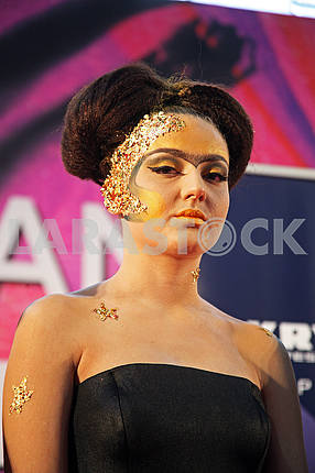 Days of Beauty and Fitness,Stardust make-up contest,Zagreb,Croatia,46