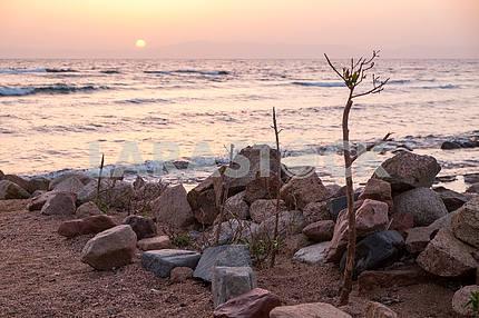 Dawn in Dahab