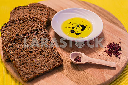 bread with oliv oil