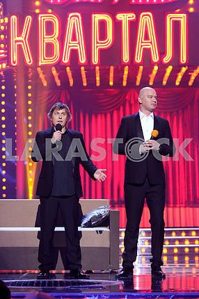Stepan Kazanin and Evgeny Koshevoi