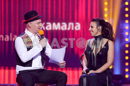 Jamala and Evgeny Koshevoi