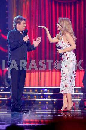 Stepan Kazanin and Tina Karol