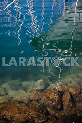 Underwater sea background.