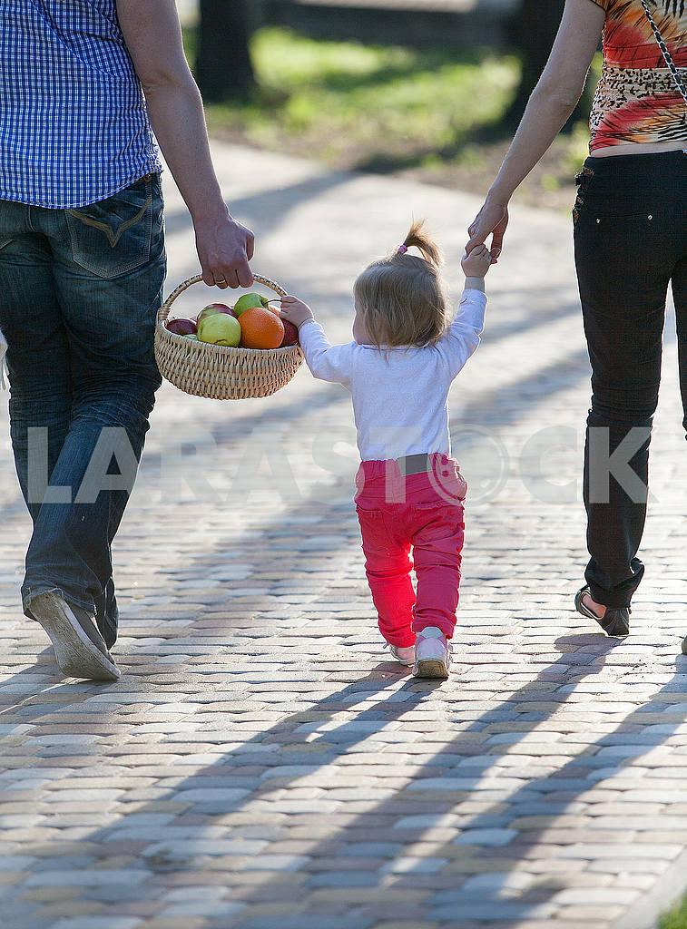 Happy family of three — Image 53212