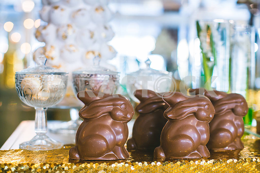 Easter chocolate bunnies — Image 53217