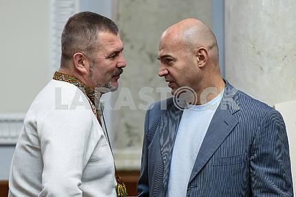 Юрий Береза и Игорь Кононенко