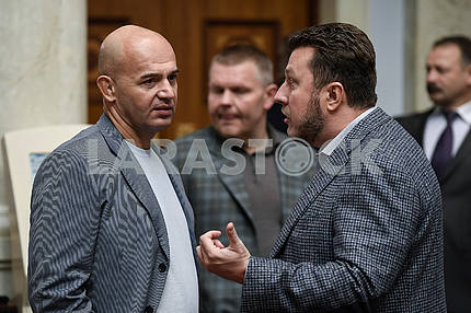 Igor Kononenko and Anton Yatsenko