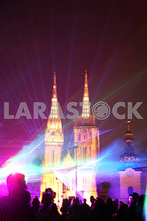 Festival of Lights,Laser Story,Zagreb,2017.,38