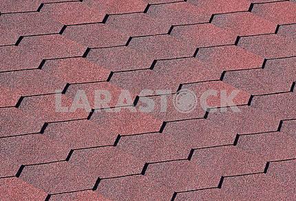 Bitumen roofing surface