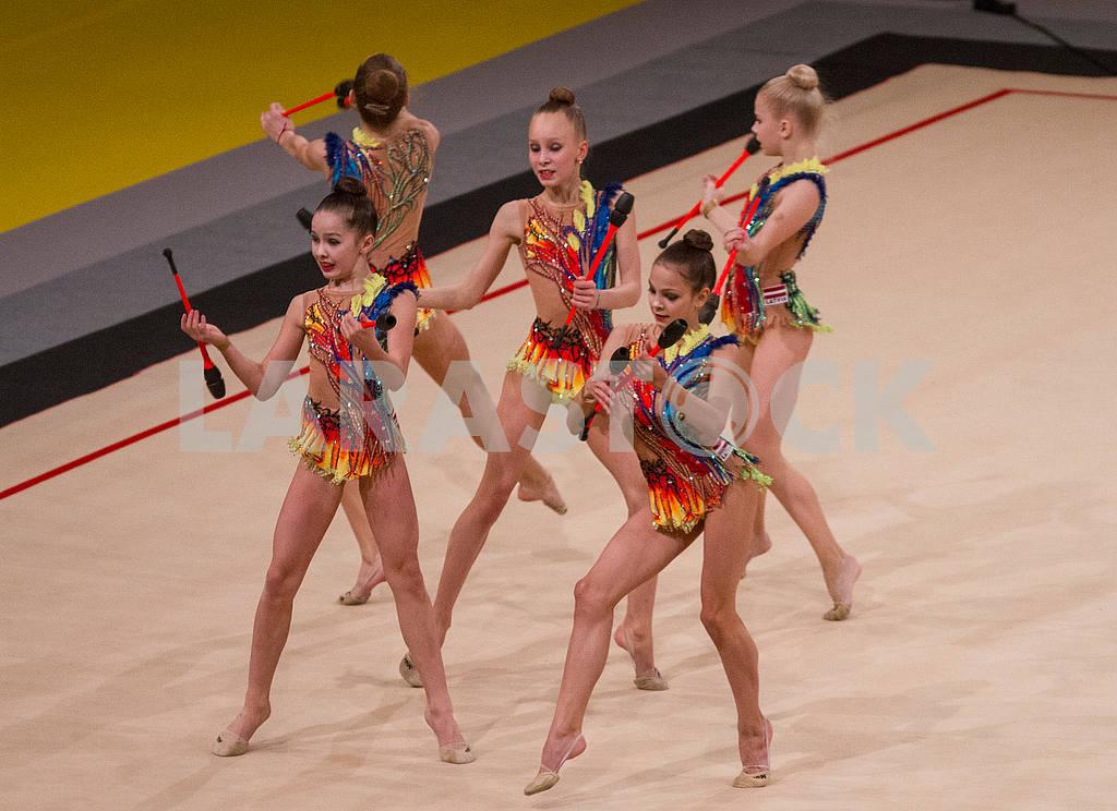 Latvia national team on the Deriugina Cup — Image 53431