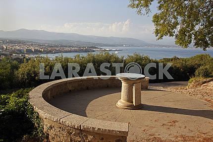 Mediterranean Coast, Antibes, Cote d'Azur, France.