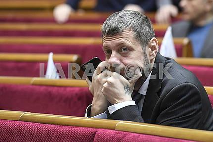 Ігор Мосійчук в сесійній залі