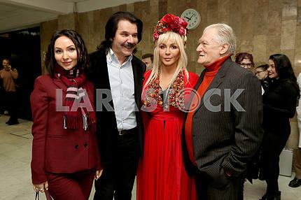 Mira Gold, Pavel Zibrov, Irina Bilyk and Yuri Rybchinsky