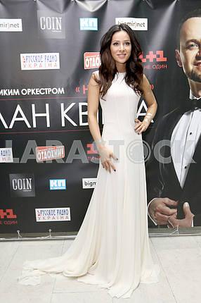 Zlata Ognevitch, the singer