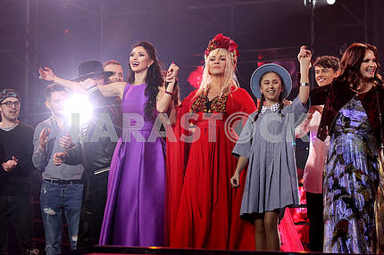 Concert-benefit of Ruslana Quinta