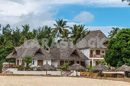 Hotel on the island of Zanzibar