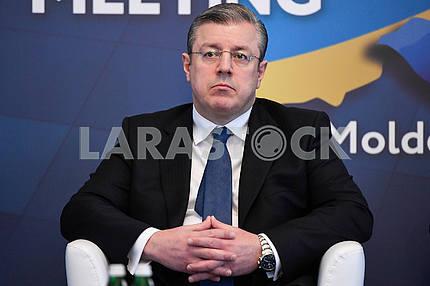 Georgy Kvirikashvili at the GUAM summit