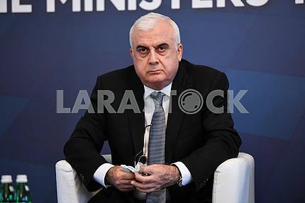 Ismet Abbasov at the GUAM summit