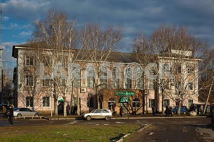 View of Kramatorsk railway station